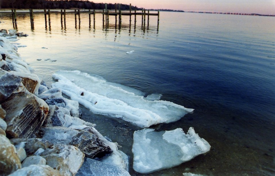 Patuxent River version of icebergs.