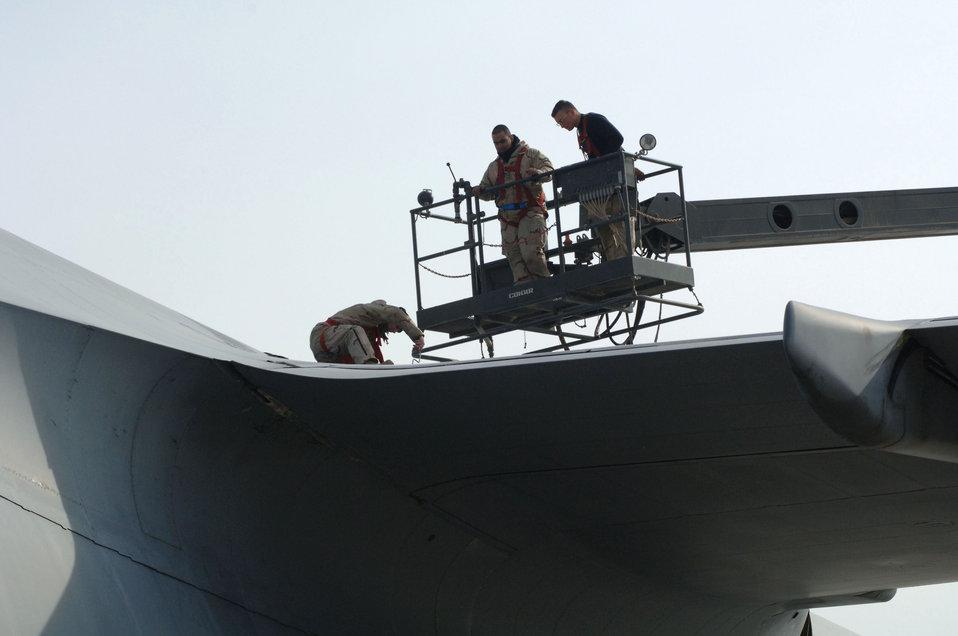 Balad Airmen take on galactic mission