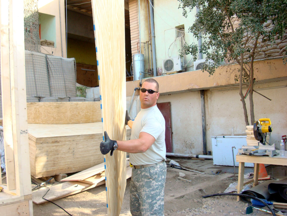 Balad Airmen help improve quality of life for Soldiers in Iraq