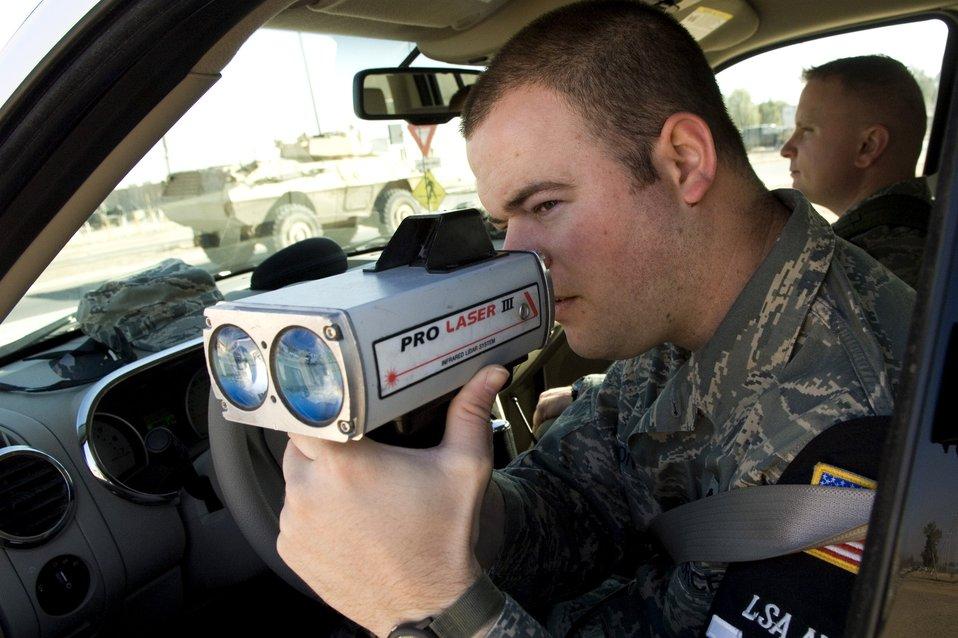 Balad Airmen keep order, maintain security