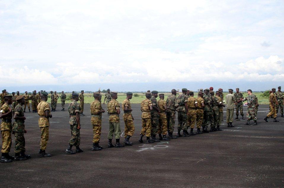 Ramstein Airmen help Burundi military deploy