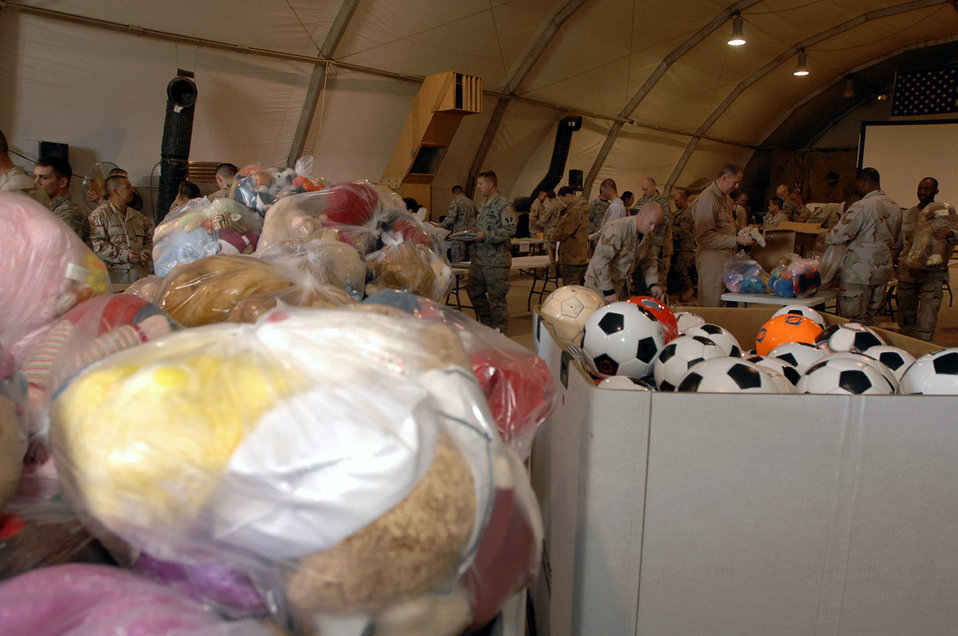 Iraqi Operation Child donations packed, ready