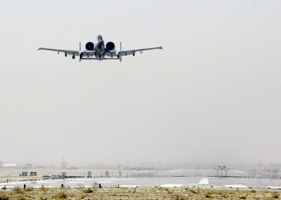 Jan. 1 airpower summary: A-10 Thunderbolt II delivers
