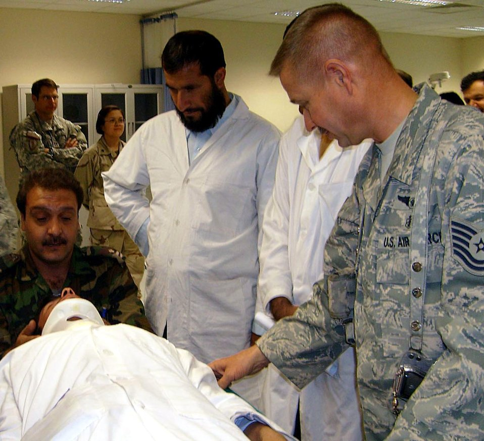 Behind the scenes, Airmen help to open hospital