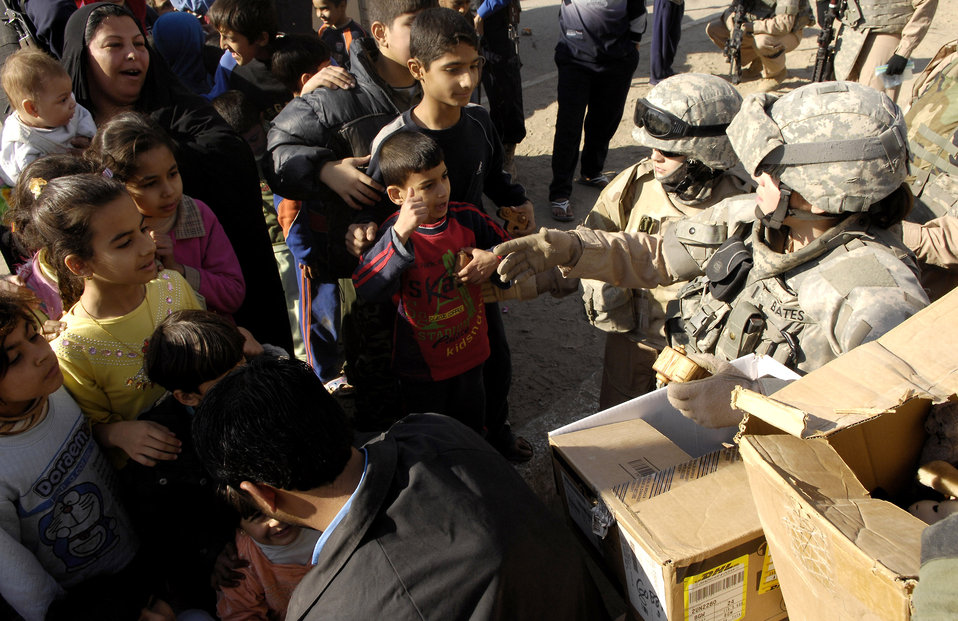 Toys for Iraqi tots