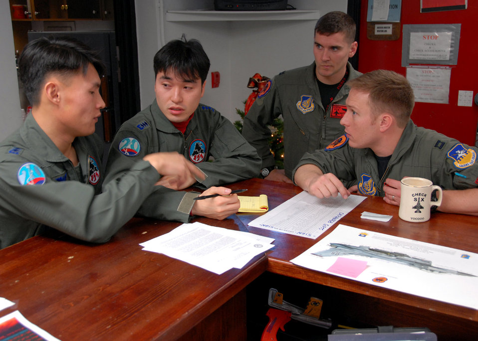 Airmen participate in buddy wing program