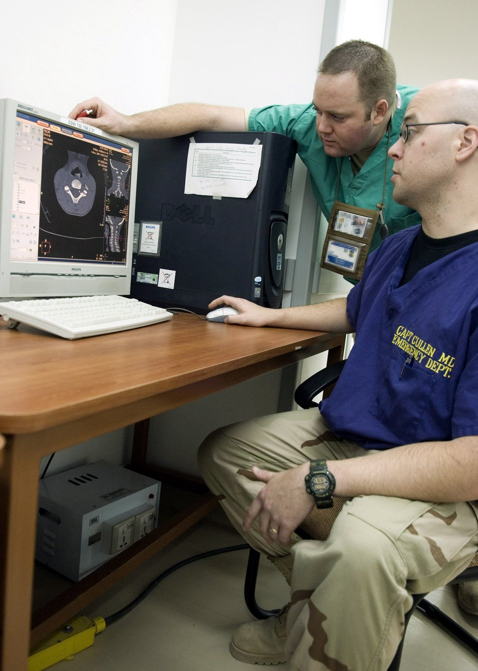 Balad radiologists scan to save lives
