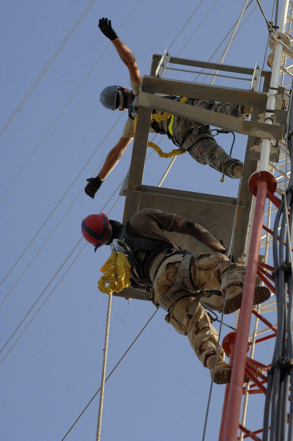 Tower-climbing certification