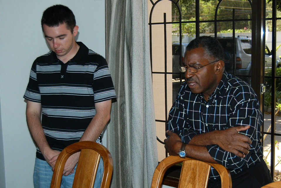 Ministry support team visits troops in Tanzania