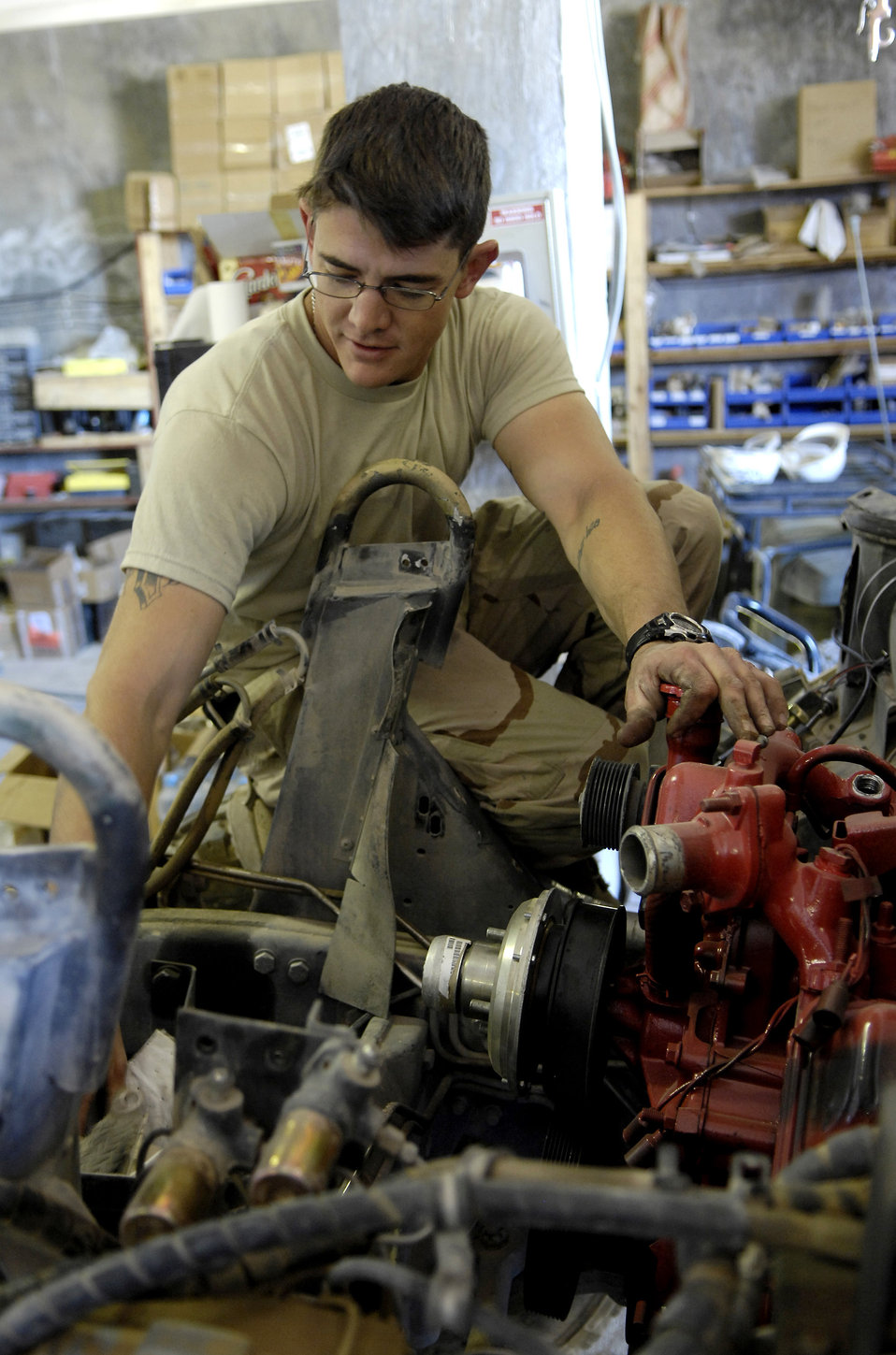 'In-lieu-of' Airmen keep Army rolling along