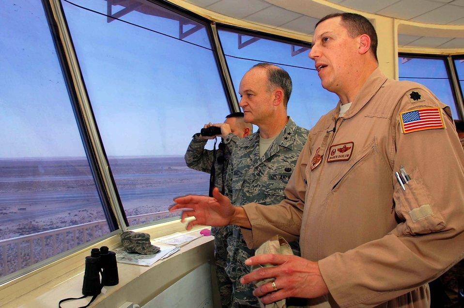 Top JAG visits deployed Airmen