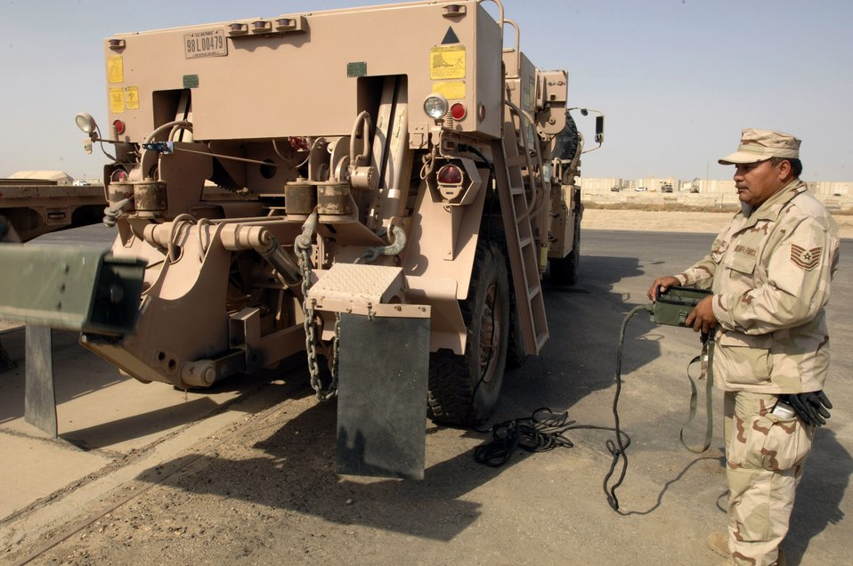 Airman keeps vehicles movin' four decades in the making
