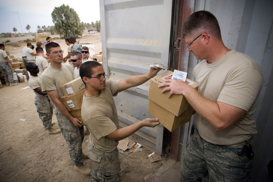 Mobile readiness team supports Army in Iraq