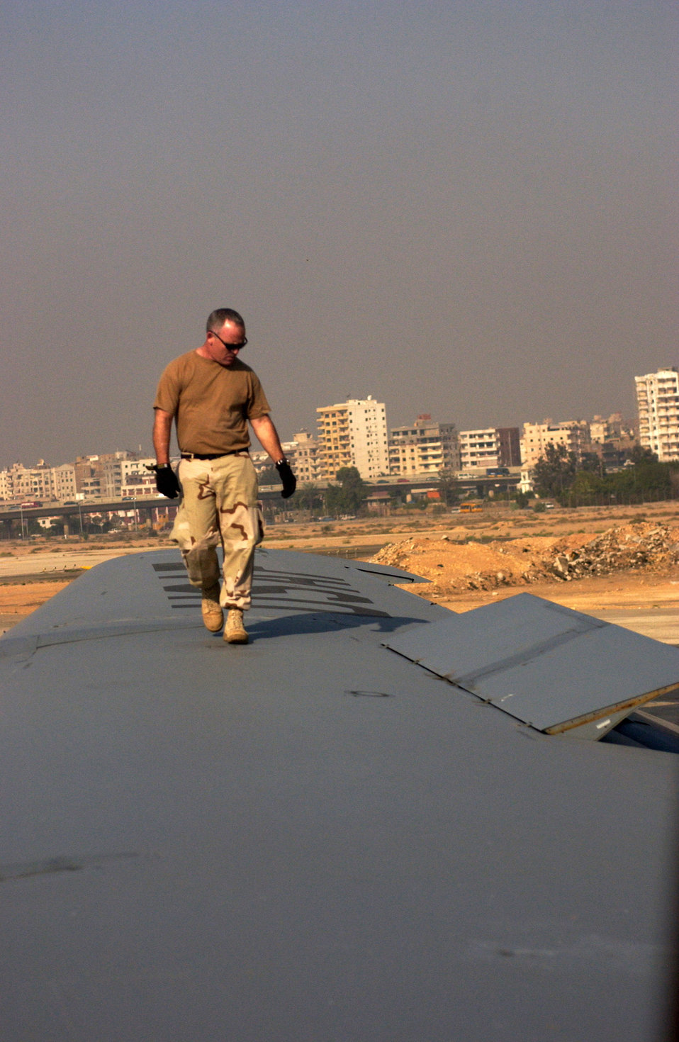 Reservists train with Egyptian airmen