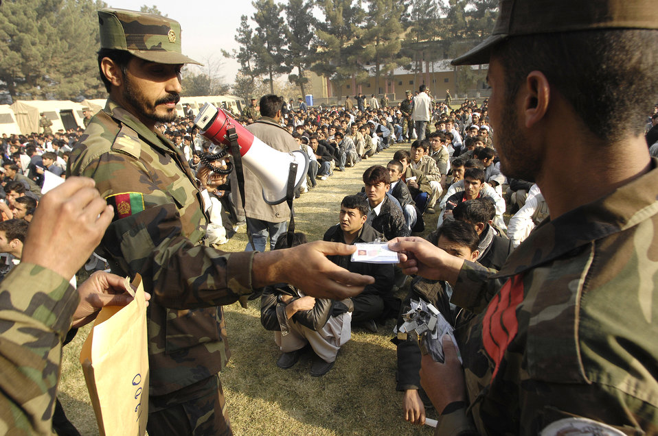 Airmen, Soldiers help establish military academy