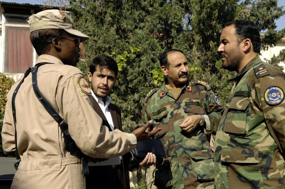 Airmen help Afghans stand up flight medicine clinic