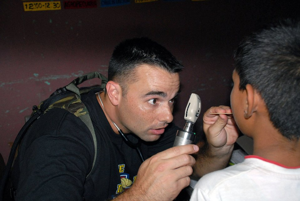 Medics provide care in Honduran villages