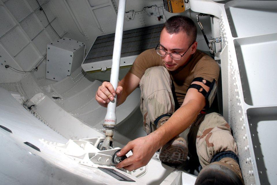Team effort sets airlift standard