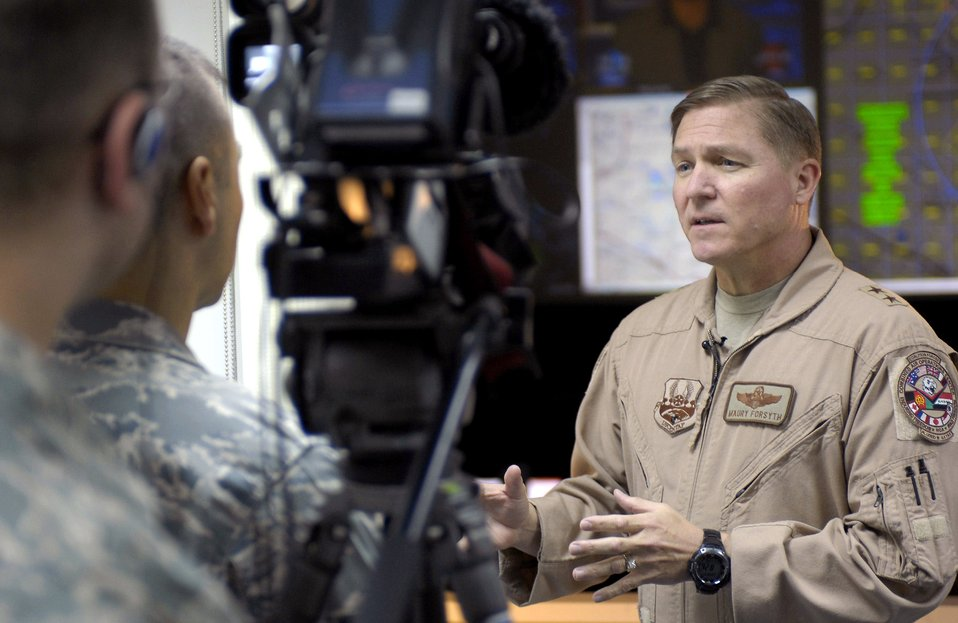 DCFACC talks airpower, Airmen