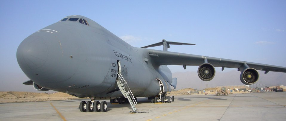 C-5 lands at Bagram, opens galaxy of capabilities