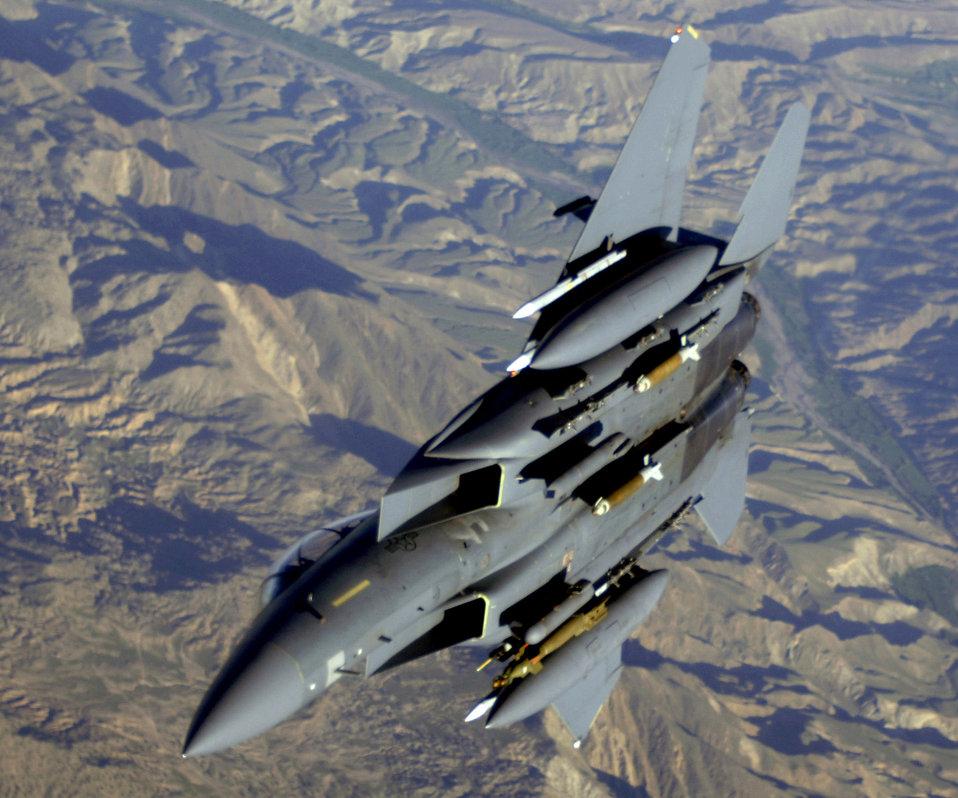 Sept. 10 airpower summary: F-15s strike enemy
