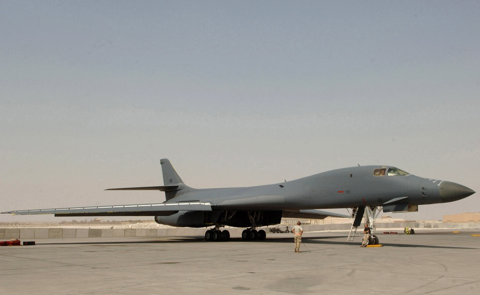 Sept. 5 airpower summary: B-1B supports close-air missions