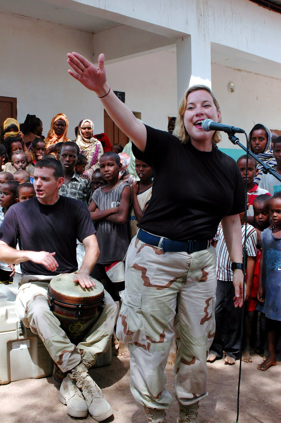 Rock band reaches out to Djiboutian villages