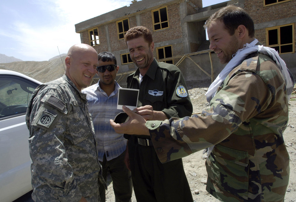 Airmen go hand-to-hand with Afghan National Police