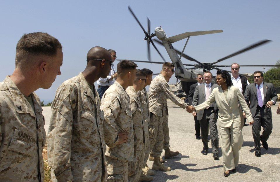 Secretary of State visits Lebanon