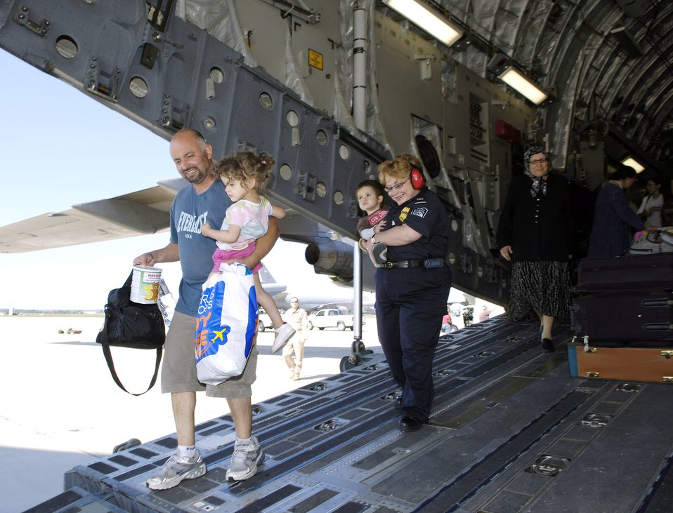 McGuire AFB provides humanitarian assistance