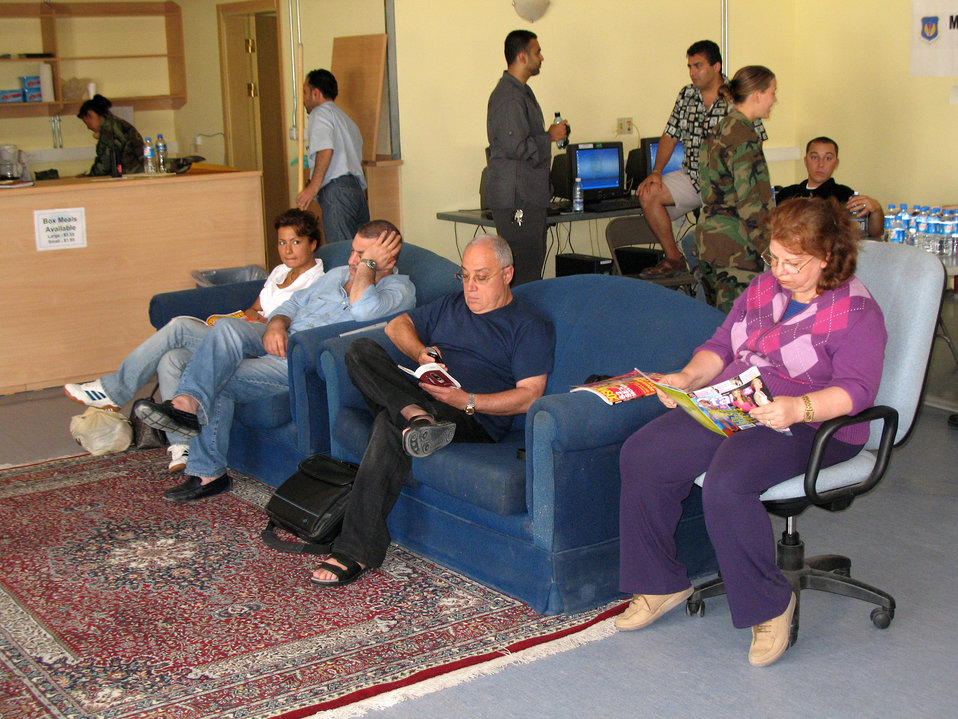 Care and comfort at Incirlik
