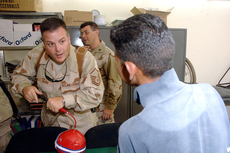 Airmen pitch in for worthy cause in Iraq