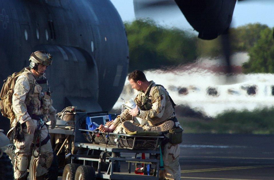 Patient rescue exercise