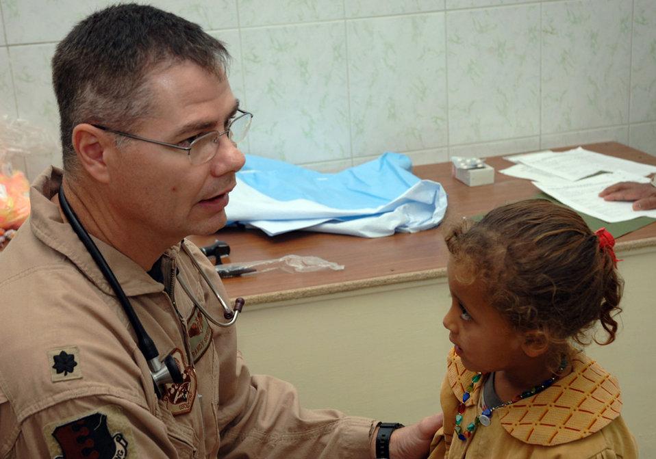 Baghdad clinic