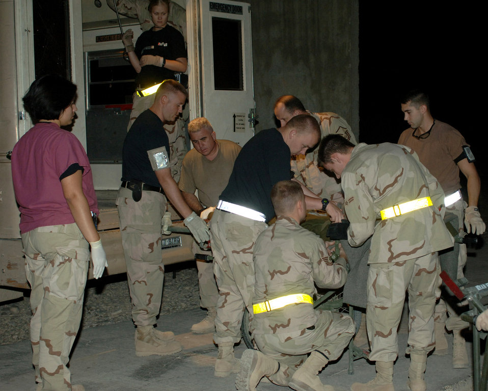 Air Force hospital saves Iraqi lives