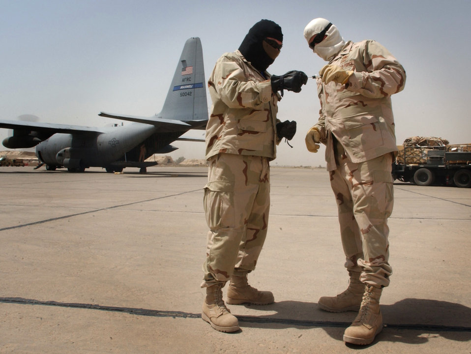 Deployed leaders take 'vest-ed' interest in being cool
