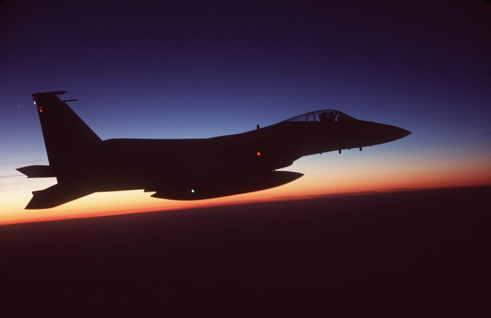 F-15C silhouette