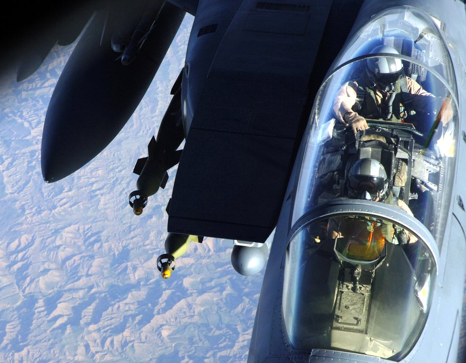 A view to a refuel