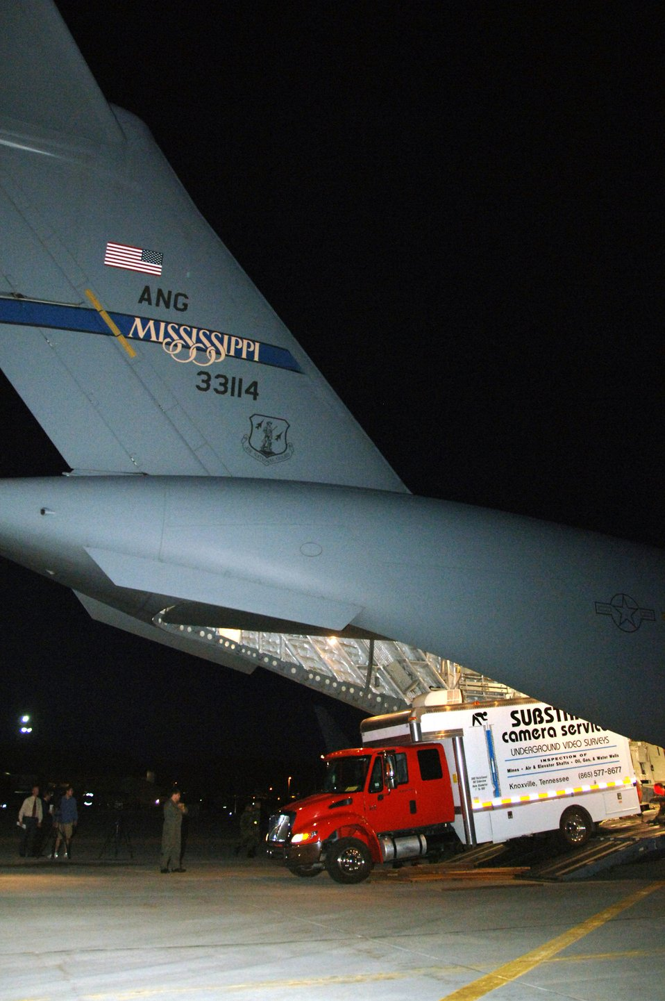 Air National Guard assists with Utah mining rescue