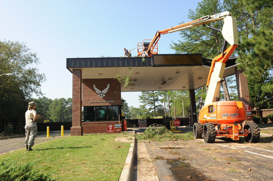 SJAFB cleans up after Irene