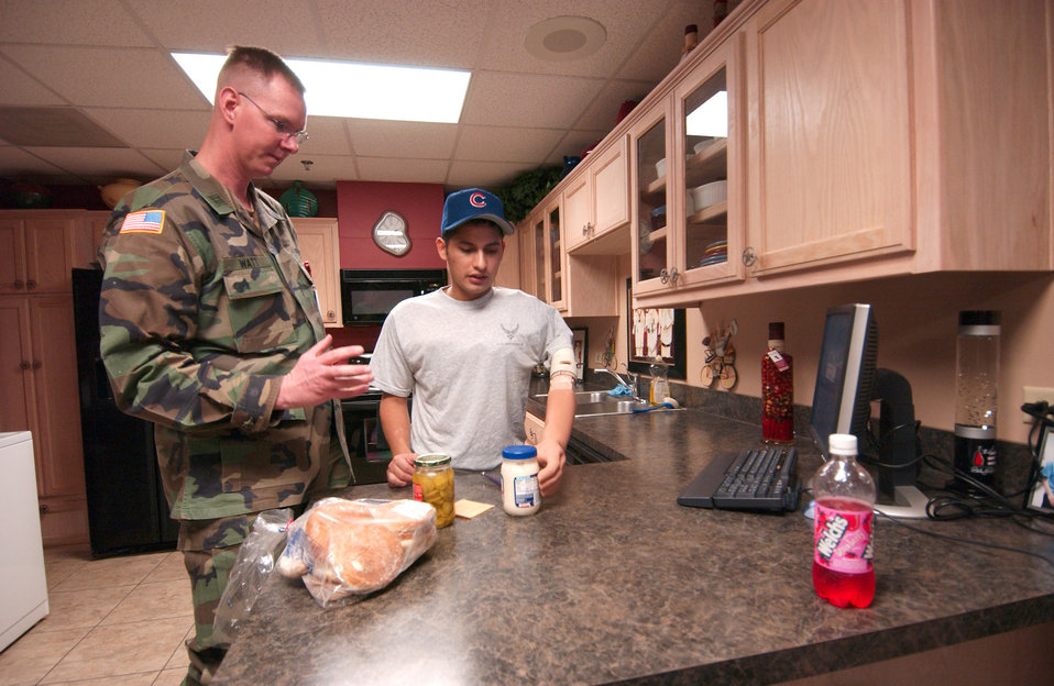 Airman wants to continue to serve