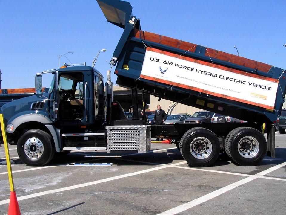 AFMC helps develop hybrid truck technology