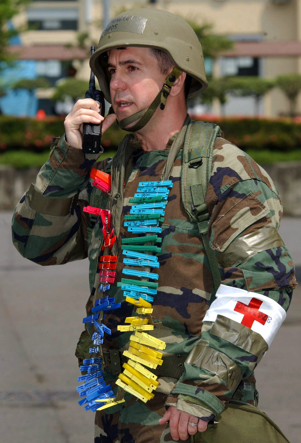 Colorful caller