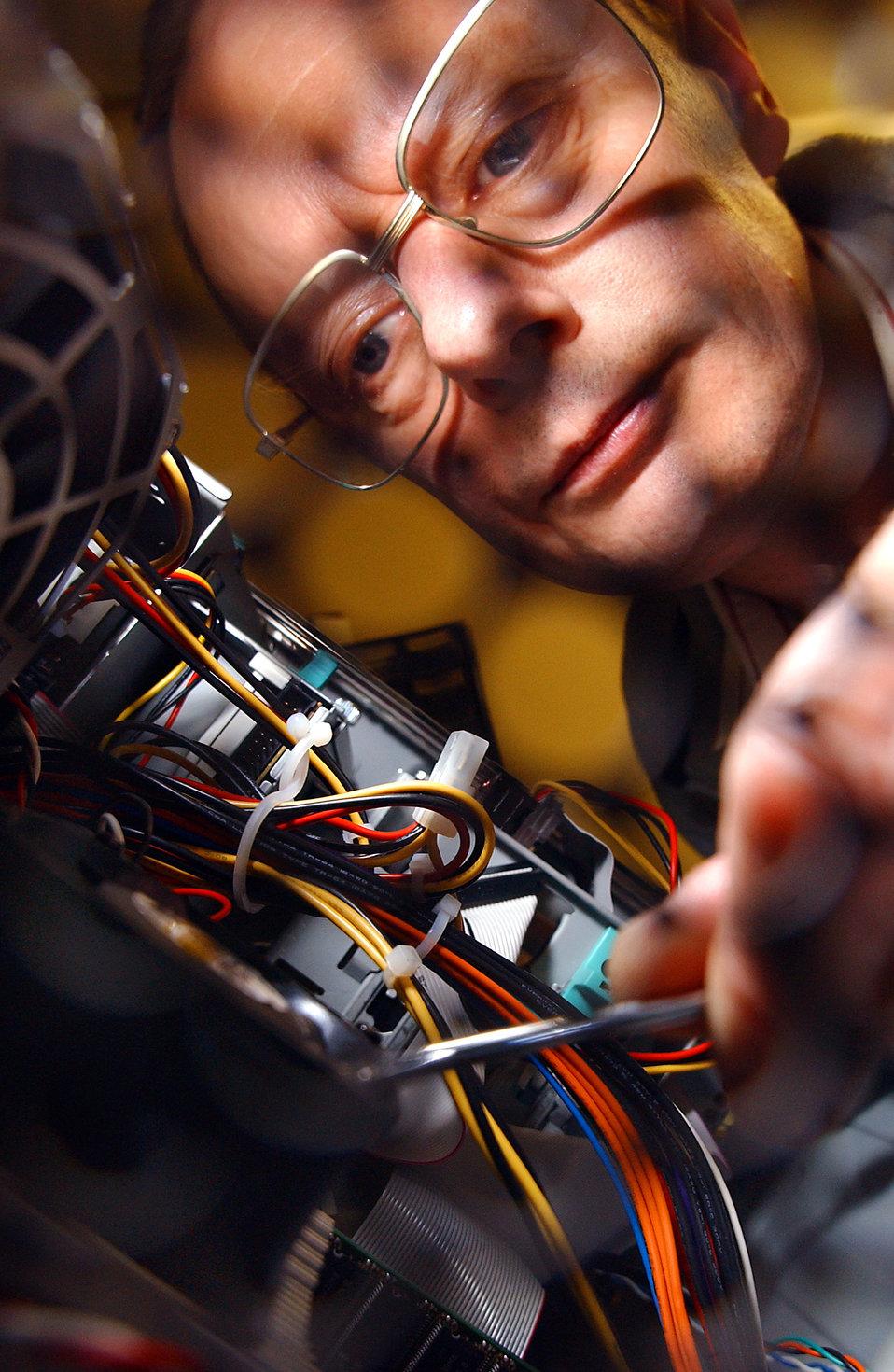 A CPU fan