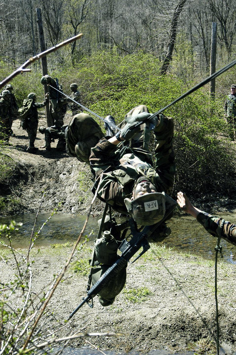 Cadets take fourth at Sandhurst