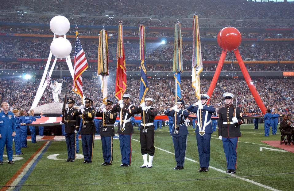 Representing at the Super Bowl