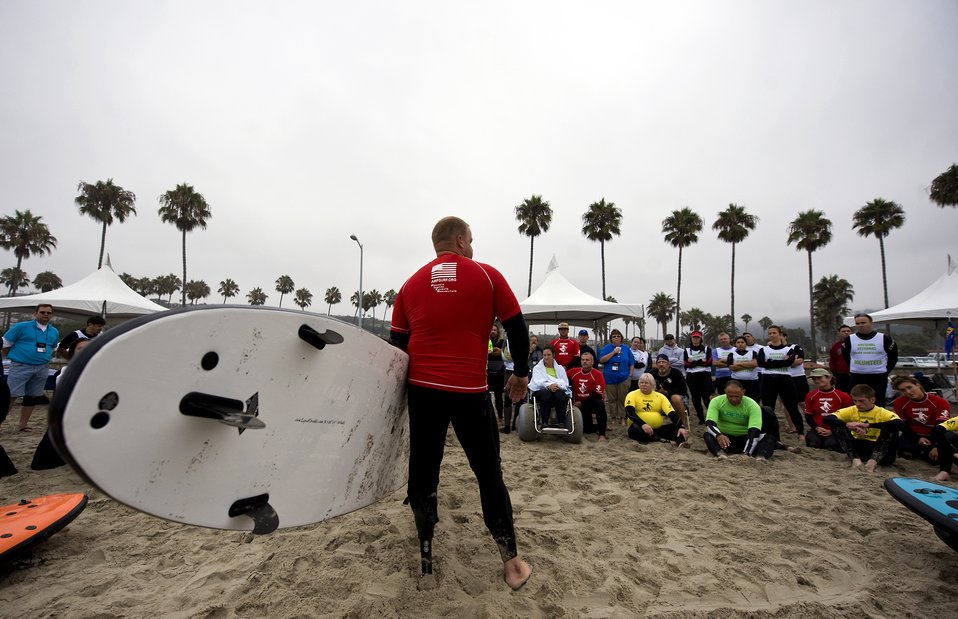 Disabled veterans sports clinic begins in San Diego