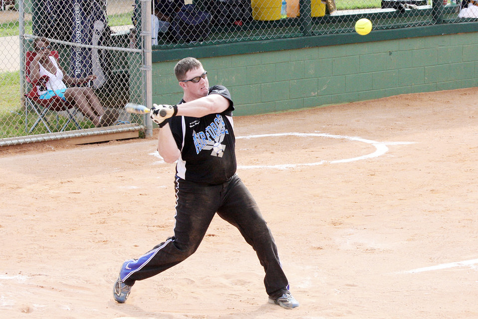 Air Force teams earn gold medals at armed forces softball championships