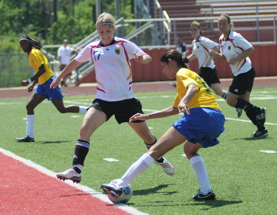 Keesler officials host Women's Soccer Championship