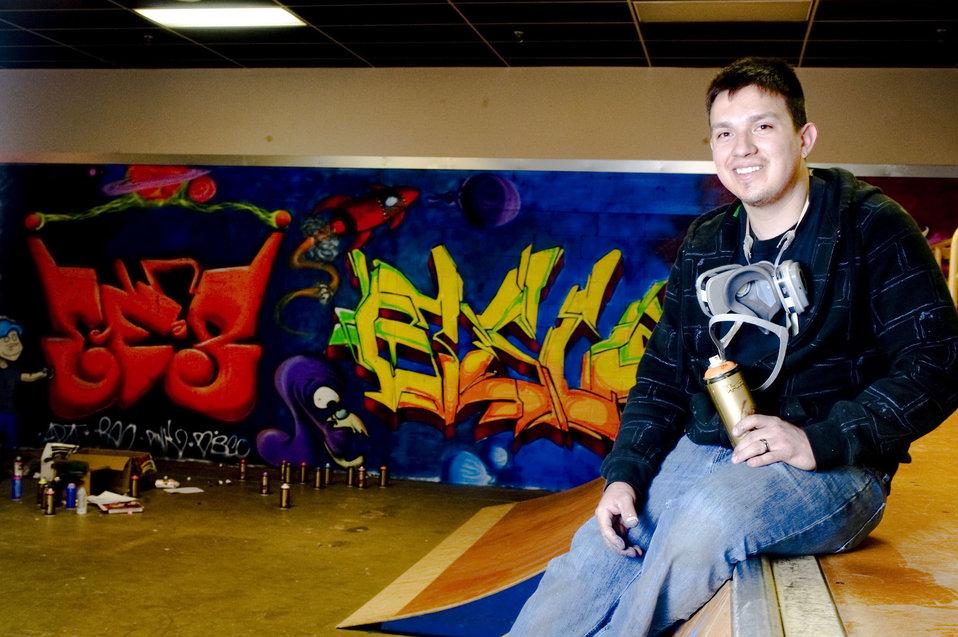 It's not grafitti, it's art